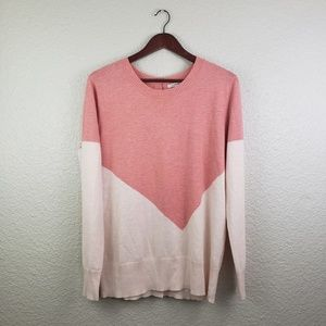 41 Hawthorn Color block Sweater size Large
